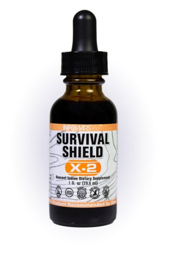 InfoWars Nascent Iodine Survival Shield X-2