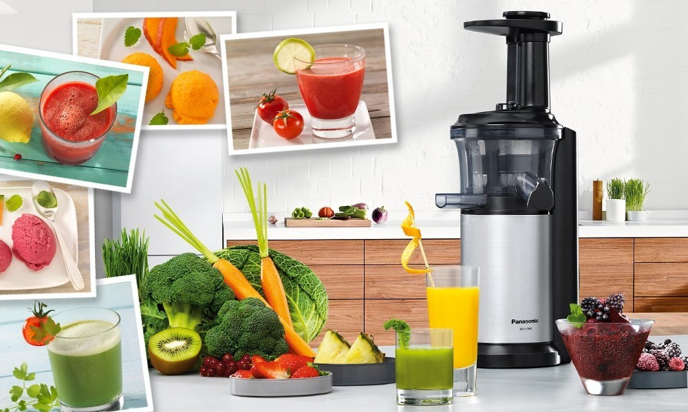 Panasonic Mj L500 Slow Juicer With Frozen Treat Attachment : Panasonic MJ-L500 Slow Juicer with Frozen Treat Attachment
