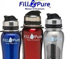 Fill2Pure Walter Filtration Bottle