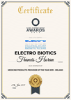 Medicine Products Of The Year 2019 - Ireland - Electrobiotics.com