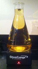 Gold Colloidal Silver made with SilverLungs